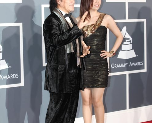Kitaro e Jane Zhang Grammy 2011
