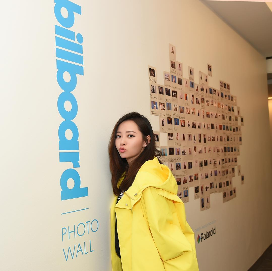 Jane Zhang Billboard Day New York Jane Zhang Marvel Studios