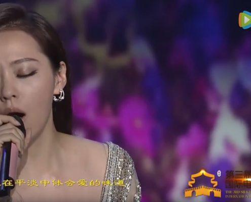 Jane Zhang ambasciatrice della Via della Seta del XXI secolo