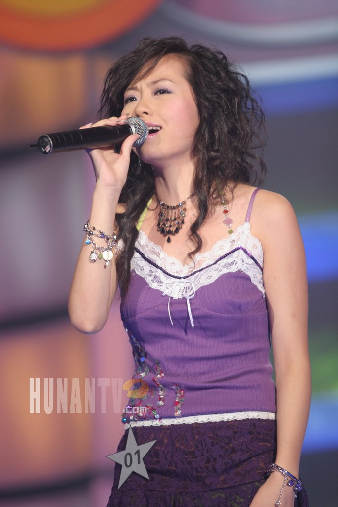 Jane Zhang - Super Girl 2005