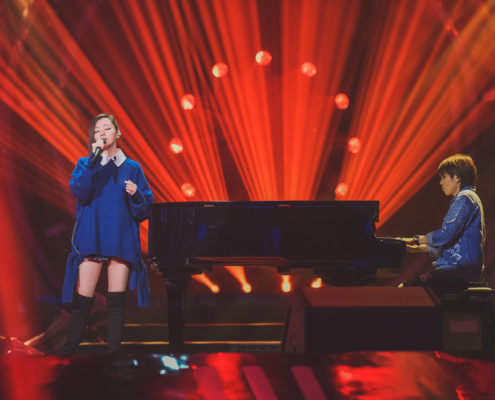Jane Zhane e JJ Lin Jane Zhang and JJ Lin duet