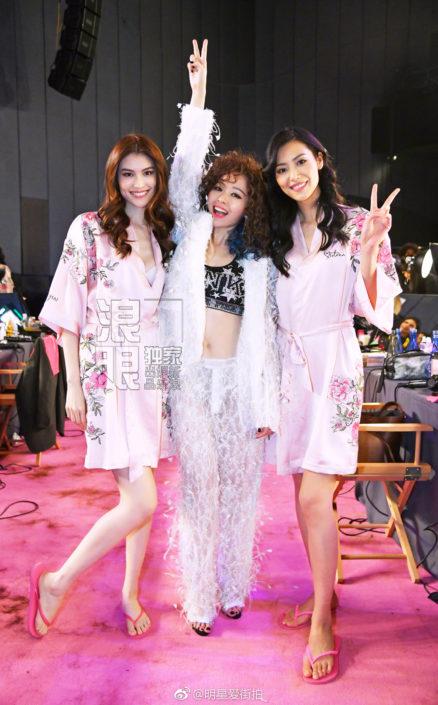 Jane Zhang al Victoria's Secret Fashion Show Jane Zhang at Victoria's Secret Fashion Show