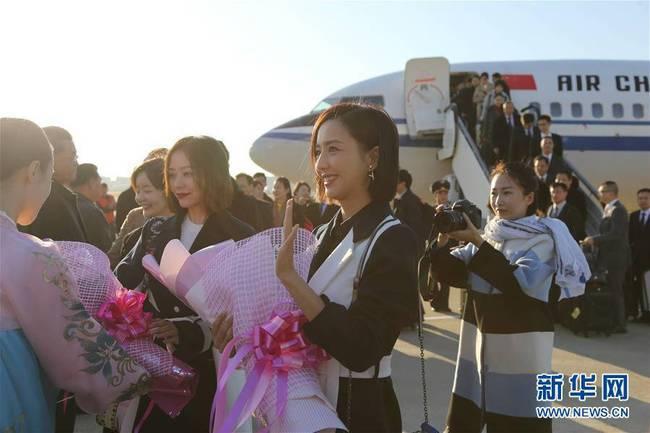 Jane Zhang in North Korea Jane Zhang in Corea del Nord