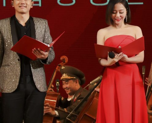 Jane Zhang in North Korea Jane Zhang in Corea del Nord